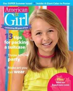 AMERICAN GIRL MAGAZINE EVERYDAY FUN 2015 ( CUTE AND EASY HAIRSTYLES * 6 QUIZZES