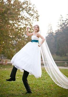 Photo originale mariage idées déco mariage amusant