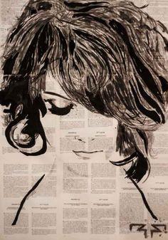 ARTFINDER: There is no aphrodisiac like innocence by Roman Filiev - ink & paper Vector Design, Design Art, Art Students League, Art Studies, Paper Art, Watercolor Paintings, Roman, Ink, Drawings