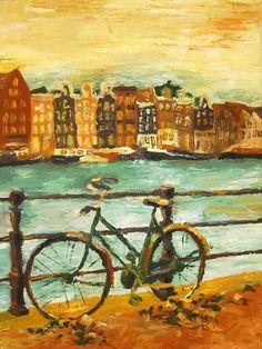 Going Dutch (yellow) Art Print by Emily Swedberg (Ito Inez) | Society6