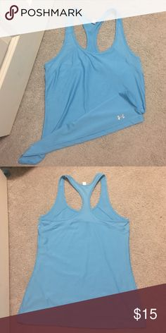 Under armor tank Dri fit material Under Armour Tops Tank Tops