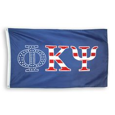 Phi Psi Stars and Stripes Flag