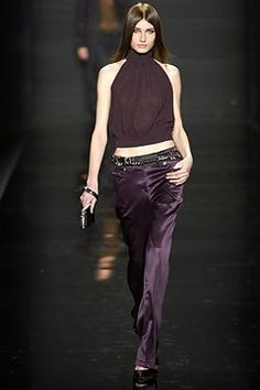 Michael Kors Collection Fall 2003 Ready-to-Wear Fashion Show - Michael Kors, Eugenia Volodina