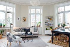 pisos suecos pisos nórdicos Mezclar elementos de diseño y low cost estilo nórdico escandinavo diseño original decoración decoración low cost decoración de pisos pequeños cajas de madera decoración blog decoración de interiores