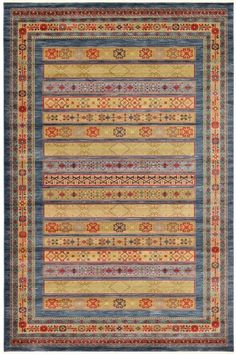 Multi Luxury Gabbeh Wool Rug GB-36 $857.00