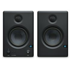Sound you can trust.When you're serious about creating music, you need studio monitors that will speak nothing but the truth. Eris® studio monitors deliver a smooth and accurate frequency resp. Monitor Speakers, Recording Equipment, Photo Proof, You Better Work, Tracking System, 2 Way, High Definition, Acoustic, Guitars
