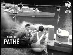 #Scarborough, North Yorkshire - Peasholme Park River Plate Battle (1951) #British_Pathe #Yorkshire