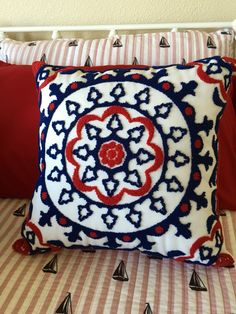 Another beautiful pillow from TJ Maxx!! BransonLivin