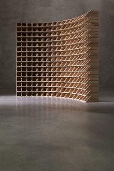 Cantinetto in legno curva