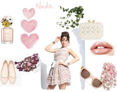 """""""Nude"""" by sophie-panthere on Polyvore"""