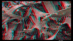 Lichen (anaglyph) by John Wattie