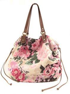 Cotton flower bag