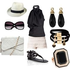 Classic Summer Day, created by gracie-hanks on Polyvore  Love all of this!!!  I was just thinking I needed some shoes like this!