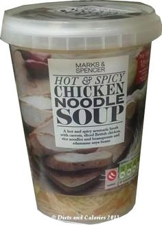 Hot & Spicy Chicken Noodle Soup from Marks & Spencer