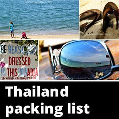 Thailand packing list: what to pack for a trip to Thailand? From toiletries to a wallet full of Thai baht – we've got you covered.