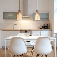 wooden pendant lights ENA by IUMI DESIGN