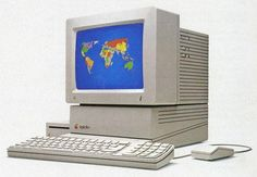 The Apple IIGS disappeared from the market in 1992.