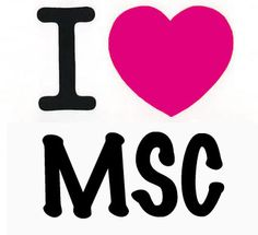 I Love MSC - www.mscboutique.com