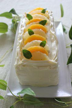 オレンジ&グレープフルーツのケーキイッチ