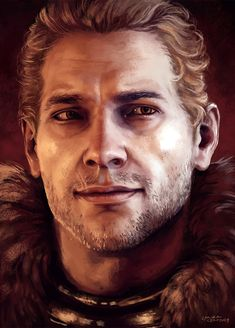 """xiahki:  """"We hungry underdogs, we risers with dawn, we dissmisser's of odds, we blesser's of on – we will station ourselves to the calm."""" Ser Cullen Stanton Rutherford of Honnleath, Commander of the Forces of the Inquisition, former Knight-Commander of Kirkwall. Fluffy scruffy coat babe."""