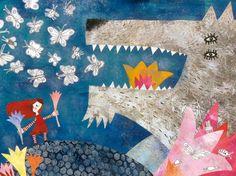 Cappuccetto Rosso – le illustrazioni di Jacqueline Molnar   al peggio non cè mai fine