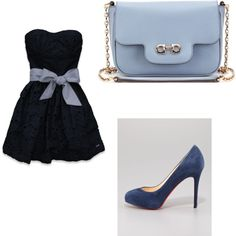 """""""blue"""" by augustalove on Polyvore"""