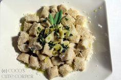 Ricotta Gnocchi an Knoblauch Salbei Butter