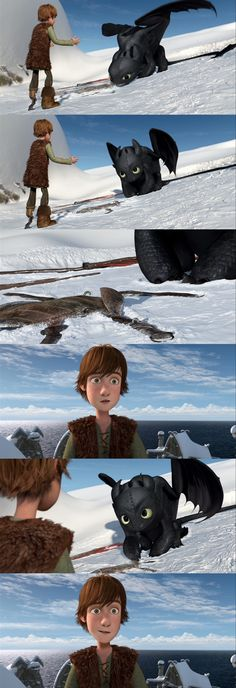 My thought: Hiccup has one of these ridden on Berk. Everybody knows where it is so that if anything happens to Hiccup, Toothless can still fly