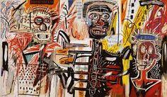 Znalezione obrazy dla zapytania Jean Michel Basquiat.