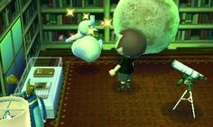 I think the moon is warping the gravity in here. #animalcrossing