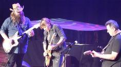 Chris Stapleton, Keith Urban and Vince Gill perform at Universal Nashville's Country Radio Seminar showcase at the Ryman Auditorium in Nashville, Tenn.