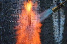 Sauna Savu | total Sauna is built and whole box structure is charred afterwards