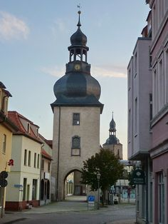 Saigertor in Hettstedt, Sachsen-Anhalt, Germany.  Hettstedt was home of the Knauth family who mined copper there in the 18th and early 19th centuries.  Paternal family.
