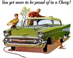 1957 Chevy Ad.