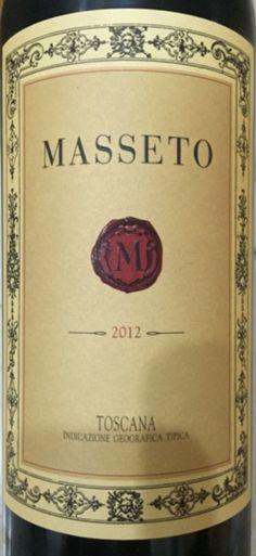 2012 Tenuta dell'Ornellaia Masseto Toscana IGT