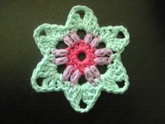 crocheted granny star how to