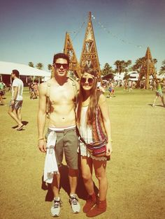 Couples that go to music festivals together, stay together