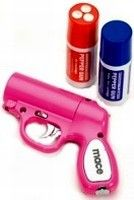 I SO want this!!! <3 :) The Home Security Superstore - Mace® Pepper Gun - Pink - 80404 - Self Defense Products Online