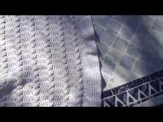 Copertina per carrozzina all'uncinetto (tutorial del punto) - YouTube
