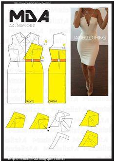 ModelistA: A4 NUM 0101 DRESS