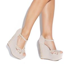 <3 these wedges