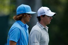 Rory McIlroy and Rickie Fowler...... my ultimate dream. Seriously. No JOKE!