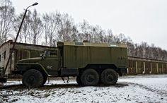 Russian GAZ truck