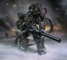 Power Armoured Space Russian! by Daryl Mandryk