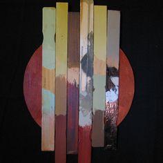 'Stir Sticks Sunrise'  mixed media    Steve Zihlavsky