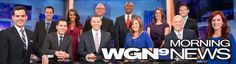 My TV Interview with WGN Morning News of Chicago. Click on the first hyperlink in the page to see the interview.