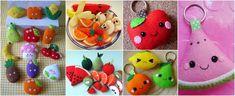 16 Moldes de frutas para hacer lindas manualidades ~ lodijoella