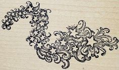Rubber Monger Rubber Stamp Stardust Wind Cluster Windy Stars Magic Celestial | eBay