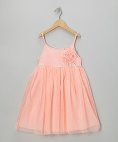 Take a look at this Pink Ballerina A-Line Dress - Infant, Toddler & Girls on zulily today!
