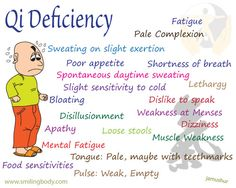 Qi Deficiency | Smiling Body